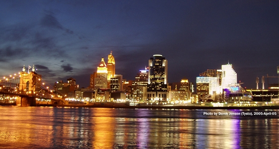 Cincinnati_Night_view